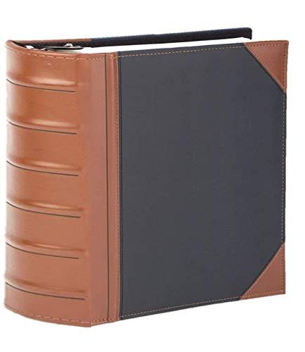 Executive Binder, Holds 350 8.5x 11 Sheets (Black)