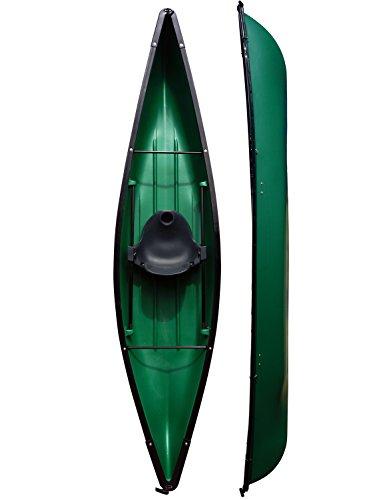 Riber Unisex One Man Kanu Kajaks, grün