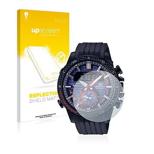 upscreen Entspiegelungs-Schutzfolie kompatibel mit Casio ECB-800 – Anti-Reflex Displayschutz-Folie Matt