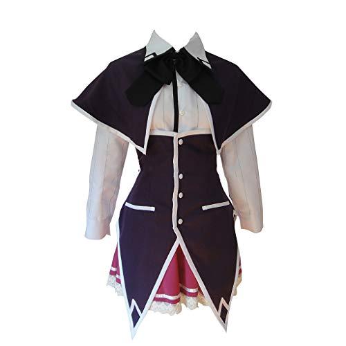 DUNHAO COS Damen High School DxD Rias Gremory Uniform Anzug Cosplay Kostüm - Schwarz - Medium