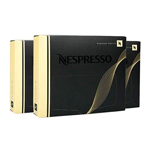 Nespresso Pro Espresso Vanilla, 50 Kapseln 3er Pack