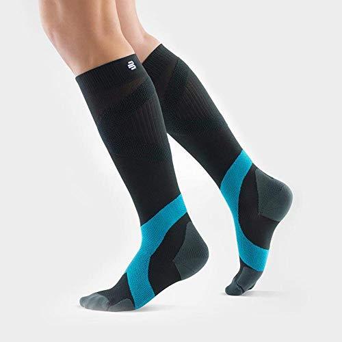 BAUERFEIND Sports Compression Socks Ball und Racket - Short Kompressionsstrümpfe, Rivera, XL