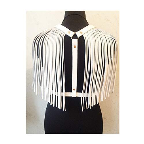 Gothic Strappy Tassle Schal Straps Taillengürtel für Frauen