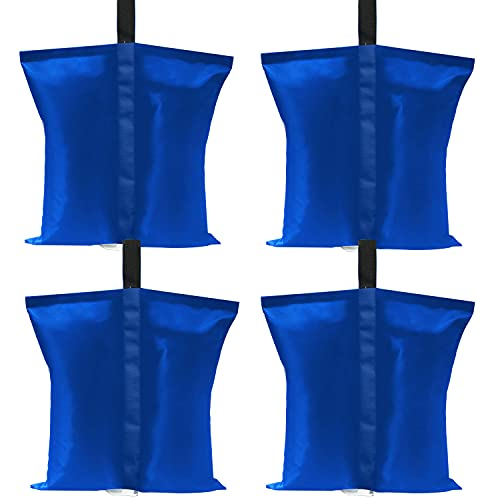 ABCCANOPY Canopy Weights Tent Sand bags,4pcs-Pack (Blue)