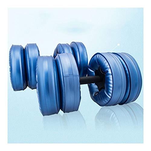 Liberty haltertraining, verstelbaar, draagbaar, met water, gewicht 20 kg, voor lichaamstraining, bodybuilding