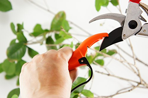Q-yard QY-007A Handheld Multi-Sharpener for Pruning Shears, Garden...