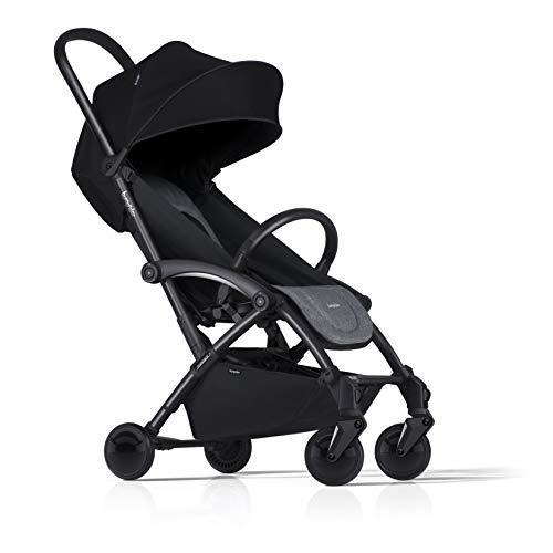 Bumprider Connect 2 - Silla de paseo con estructura de color negro y gris