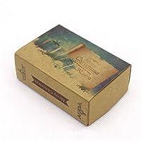 HCGS8.4 *5.8*3cm ギフト用ギフト用ボックス リボンプリントギフトボックスdiy手作りの愛の結婚式の好意ギフトソープボックス 10個 写真8としてボックス