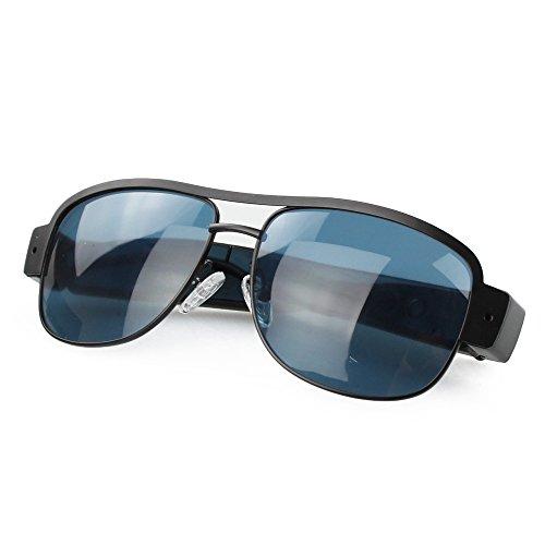 Mini telecamera spia HD 720P, occhiali da sole con videocamera registratore DVR, telecamera sportiva