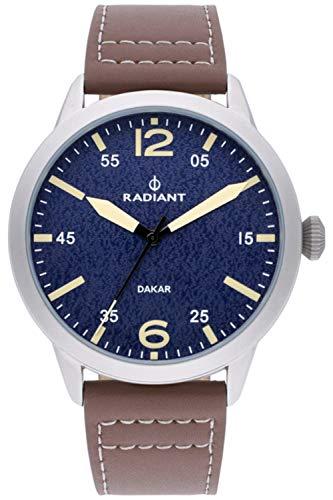 Radiant Harald Herren Uhr analog Quarzwerk mit Leder Armband RA504602