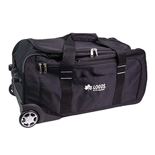 [LOGOS(ロゴス)]キャリーケース スーツケース トランク ボストンバッグ ショルダー 3WAY 静音 出張 旅行 大容量 64L 2泊 3泊 鍵付き LOGOS クリスマス (ブラック)