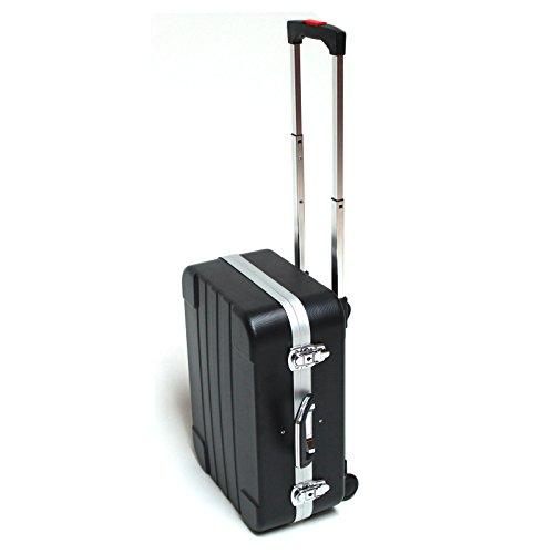 DEMA Werkzeugkoffer Trolley ABS schwarz...