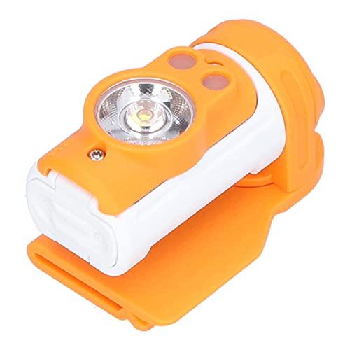 Voluxe Linterna de Faro LED, práctica de Usar Lámparas de Cabeza livianas a Prueba de Agua para Mochila para Ciclismo para la Familia