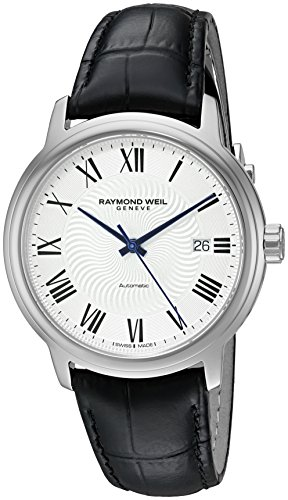 Raymond Weil Reloj Analógico para Hombre de Automático con Correa en Cuero 2237-STC-00659
