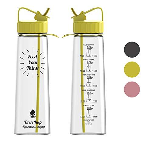 Leak Proof Sports Water Bottle Eco Friendly Tour Hiking Drinking Bottle Fu SRT