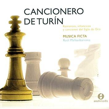 Cancioner Deturin: Romances, Villancicos y Canciones del Siglo de Oro - Musica Ficta - Raul Mallavibarrena