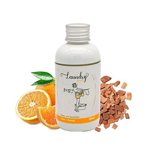 Parfüm für die Waschmaschine, Duft für die Waschmaschine, 125 ml, Wäscheduft, Wäscheparfüm (Amber und Sandelholz)