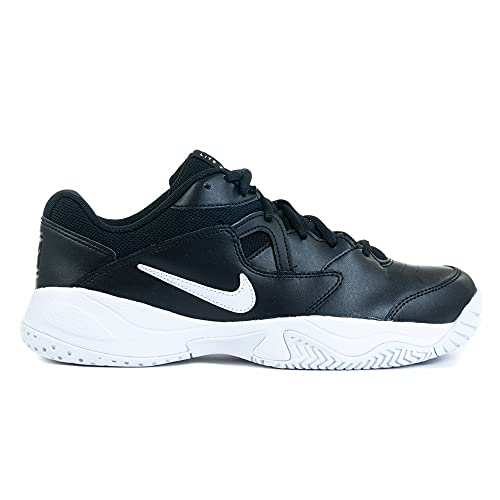 Nike NikeCourt Lite 2, Scarpe da Tennis Uomo, Black/White, 43 EU