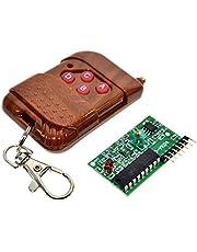 وحدة استقبال باربع قنوات لمفاتيح التحكم عن بعد بتقنية واي فاي لاجهزة اوردينو - (315 ميجاهيرتز)
