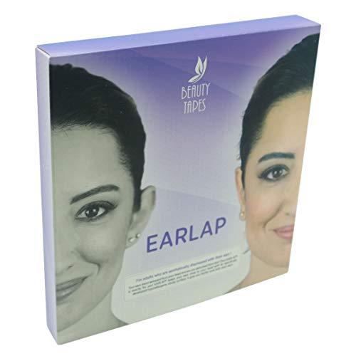 EARLAP Cosmetic Ear Corrector - Löst das Problem des Großen Ohrs - Ästhetische Korrektoren für Prominente Ohren - Enthält 20 Korrektoren