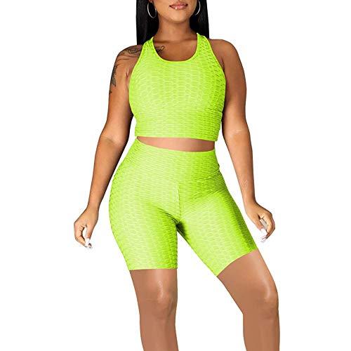 ZZLBUF Conjunto de ropa deportiva sin costuras para mujer, 2 piezas, cintura alta, estampado de serpiente, entrenamiento, correr, gimnasio, yoga, conjuntos