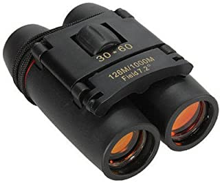 Evaluemart 30X60 Foldable Binoculars with Strap and Pouch(Sakura)