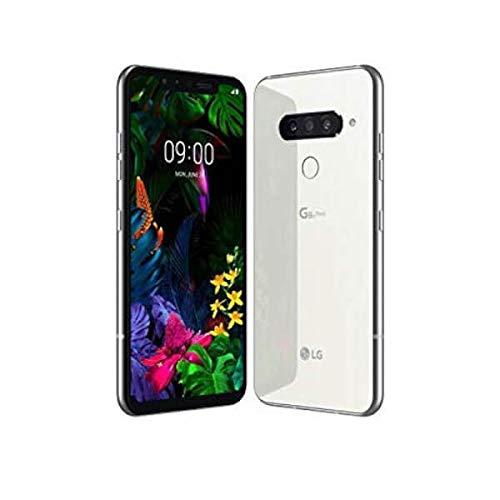LG G8s Smartphone (15,77 cm (6,21 Zoll) OLED Bildschirm, 128 GB interner Speicher, 6 GB RAM, DTX:X So&, Android 9) Mirror White
