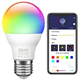 Govee LED Light Bulb Dimmable, Music Sync RGB Color Changing Light Bulbs A19 7W...