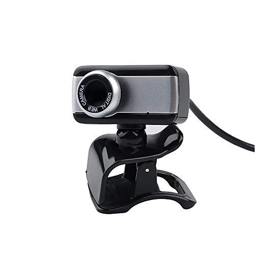 QINAG Hot Digital 50M USB Mega píxeles cámara Web con Estilo Girar la cámara Web CAM HD con el micrófono del Mic del Clip for la computadora PC Portátil