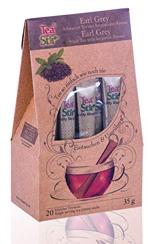 Earl Grey Tee | 20 umweltfreundliche Teesticks - Tea Sticks
