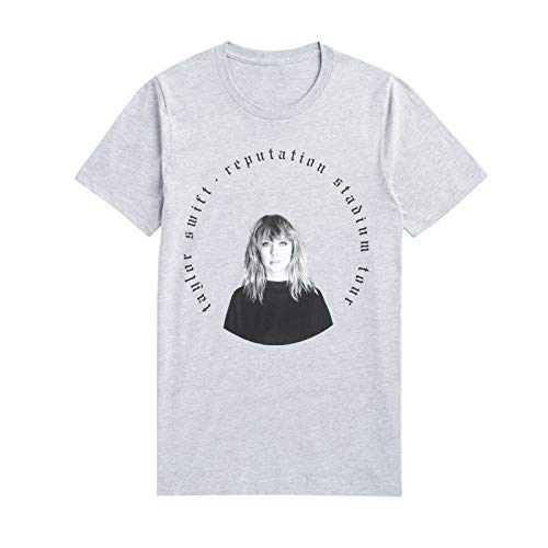 NR Sold out Taylor Swift Reputation Tour 2019 Grey Short Sleeve Shirt XL