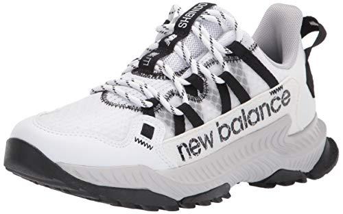 New Balance Women's DynaSoft Shando V1 Sneaker, White/Black/Aluminum, 5.5