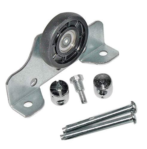 HKB ® 1 Laufteil für obenlaufende Schiebetürsysteme, Metall verzinkt, Kunststoff, ø = 35mm, Tragkraft 50kg, inklusive Schrauben, Hersteller, ArtNr: 50197