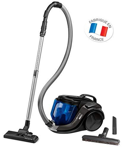 Rowenta - Aspirador de Trineo sin Bolsa X-Trem Power Cyclonic Parquet RO6940EA, Color Negro
