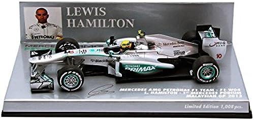 sorteos de estadio Minichamps Mercedes AMG Petronas F1 F1 F1 Team W04 No.10 1 de Mercedes podio GP de Malasia 2013 (Lewis Hamilton)  orden ahora con gran descuento y entrega gratuita