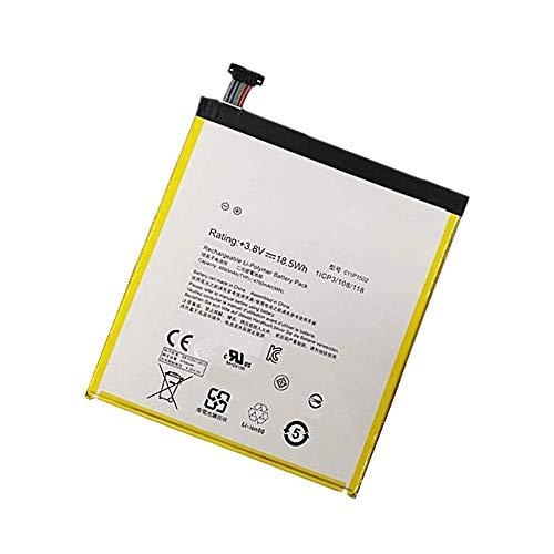 WXKJSHOP Batteria di ricambio compatibile con ASUS ZenPad 10, Z300C, P023, serie 3.8 V, 4750 mAh, ZenPad 10.1 C11P1502 (1ICP3/108/118) C11P1517 (1ICP3/108/118)
