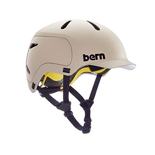 Bern WATTS 2.0 Fahrrad Helm, Sand matt, M
