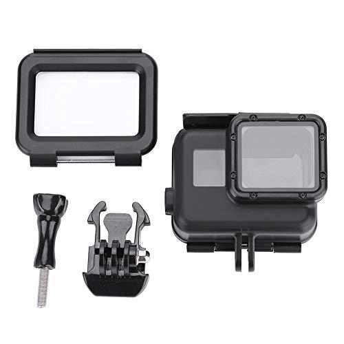 ROMACK Estuche Resistente al Agua para cámara de acción ABS Duradero Negro con Tornillo, para cámara de acción