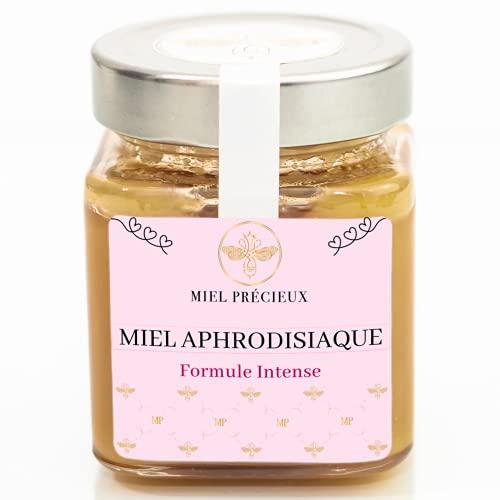 Miel Aphrodisiaque   Formule Intense   Ginseng, Maca, Tribulus Terrestris, Ashwagandha   Libido   100% pur et naturel   250g