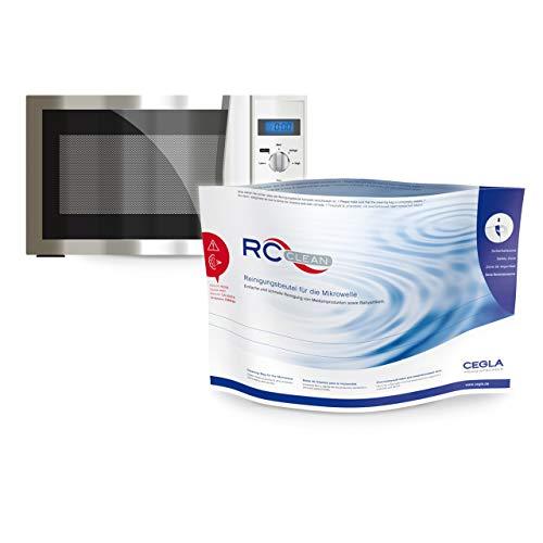 CEGLA RC-Clean Reinigungsbeutel, wiederverwendbare Sterilisationsbeutel für die Mikrowelle, zur einfachen Reinigung von z. B. Babyartikeln und Medizinprodukten, 5 Beutel für 100 Reinigungen