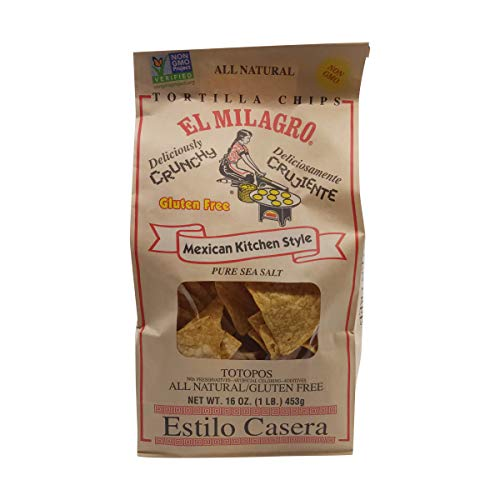 EL MILAGRO Salted Tortilla Chips, 16 OZ