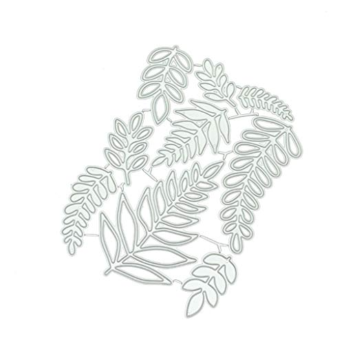 CAOREN Cutting Dies Metal Dies A Variety of Leaves Metal Cutting Dies DIY Scrapbooking Paper Stamping Die Decor