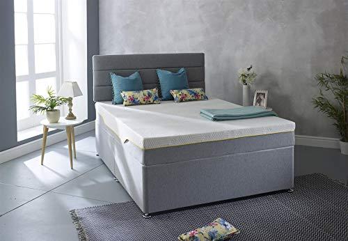 Starlight Beds Casa Sleep Original 3 Foam Layer With 7 Sleep Zones All Foam & Memory Foam Mattress, 4ft6 Double Mattress 135cm x 190cm