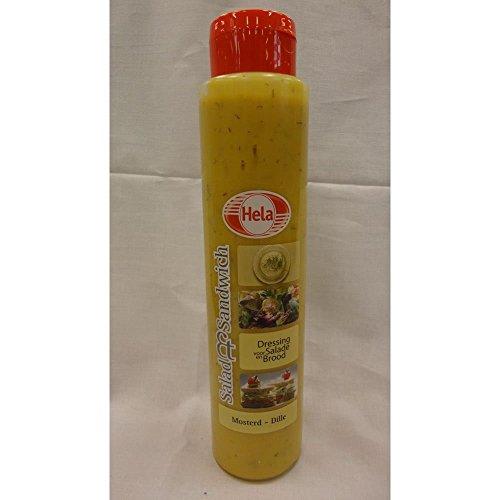 Hela Gewürz-Sauce Mosterd-Dille 800ml (Senf und Dill)