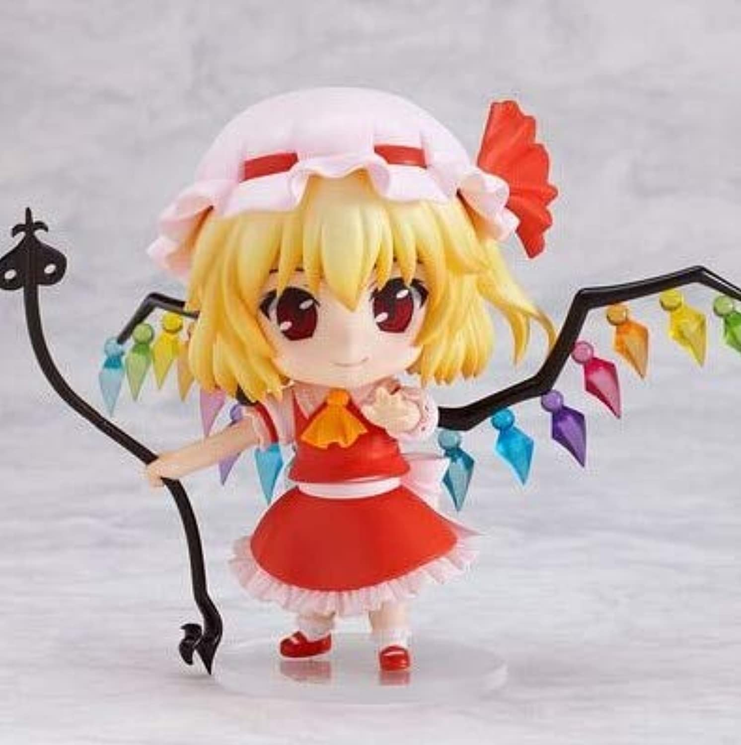 Allegro Huyer New hot 10cm Touhou Project Flandre Scarlet Movable Action Figure Toys Collection Christmas Toy Doll with Box