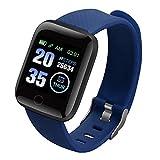 Man Fitness Watch | Fitness Tracker | Smartwatch Activity Tracker | Schrittzähler Aktivitätsarmband mit 1,3Zoll FarbTouchscreen Kamera Wasserdicht für Android/iOS | Sportband