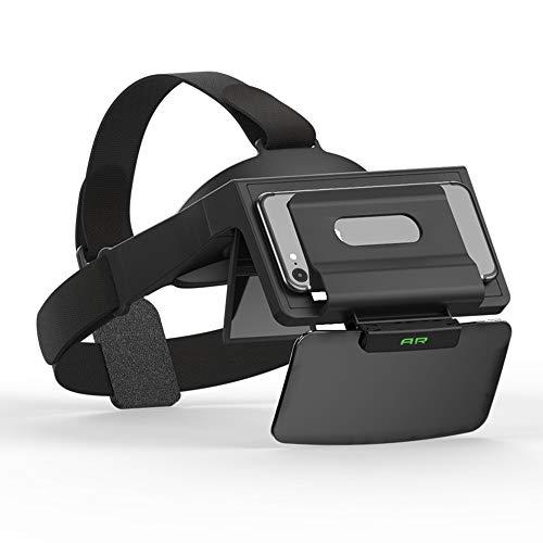 3D VR Virtual Reality Headset, VR-Brille für immersive 360-Grad-Videos/Filme/Spiele in 4 bis 5,7 Zoll iPhone 5 6s Plus Samsung S6 Edge Note 5 LG G3 G4 Nexus 5 6P (AR-01)