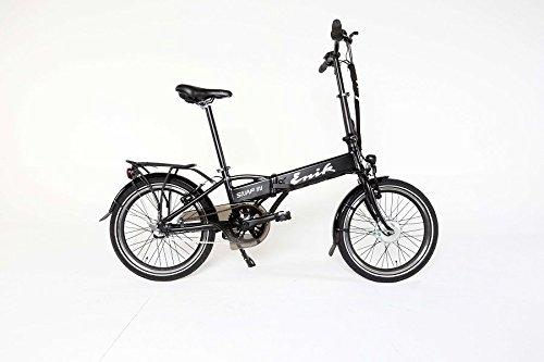 ENIK E-Bike Klapprad SNAP-IN 20, 20 Zoll, 3 Gang, Freilauf, 317 Wh 50,8 cm (20 Zoll)