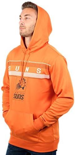 Ultra Game NBA Men's Fleece Midtown Pullover Sweatshirt