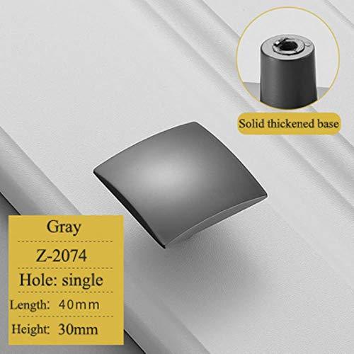 XCVB Gouden zinklegering garderobe nachtkastje kast locker knop lange handvat moderne minimalistische keuken meubelkast lade trek,